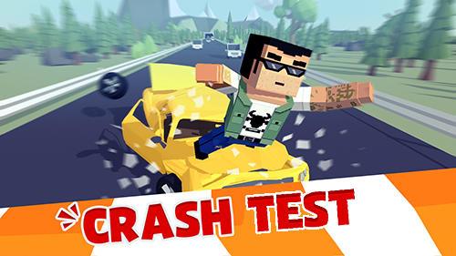 Crash test destruction simple capture d'écran