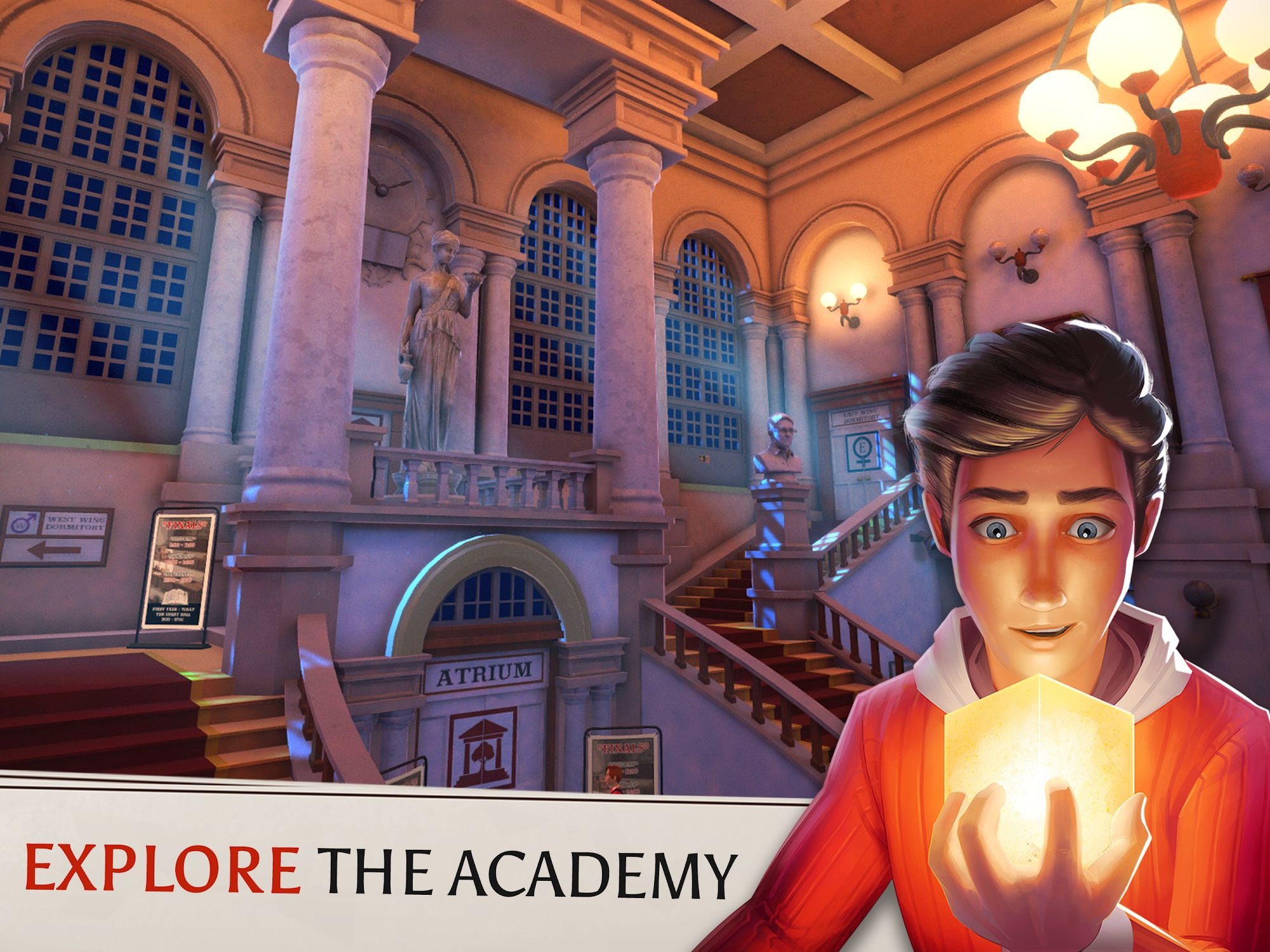 The Academy: The First Riddle screenshot 1