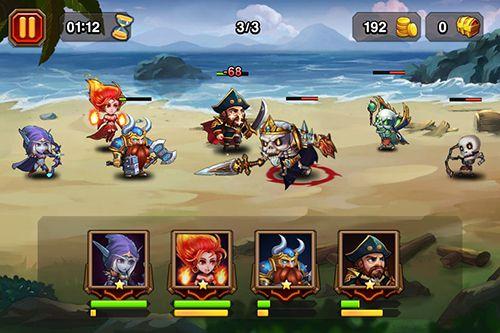Multiplayerspiele: Lade Heroes Charge auf dein Handy herunter