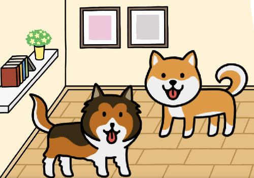 Simulator-Spiele Dog game: Cute puppy collector für das Smartphone