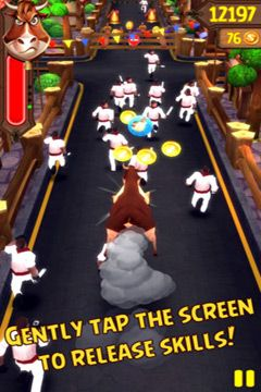 Arcade games: download Angry Bulls 2 to your phone