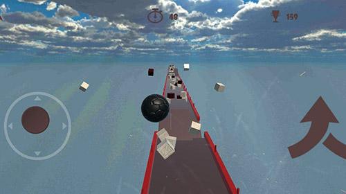 Crazy ball 3D: Death time captura de pantalla 1