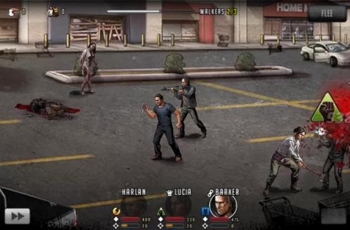 Screenshot The Walking Dead: Die Straße zum Überleben auf dem iPhone