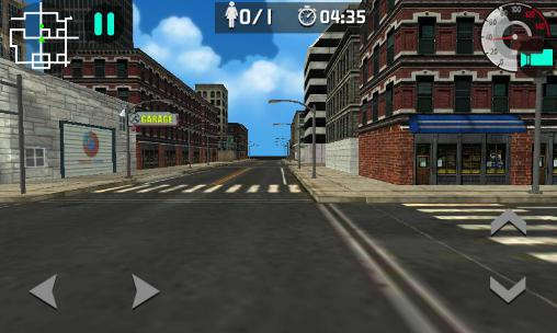 Moto rider 3D: City mission captura de pantalla 1