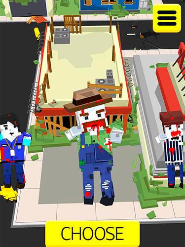 Arcade-Spiele Zombie crowd in city after apocalypse für das Smartphone