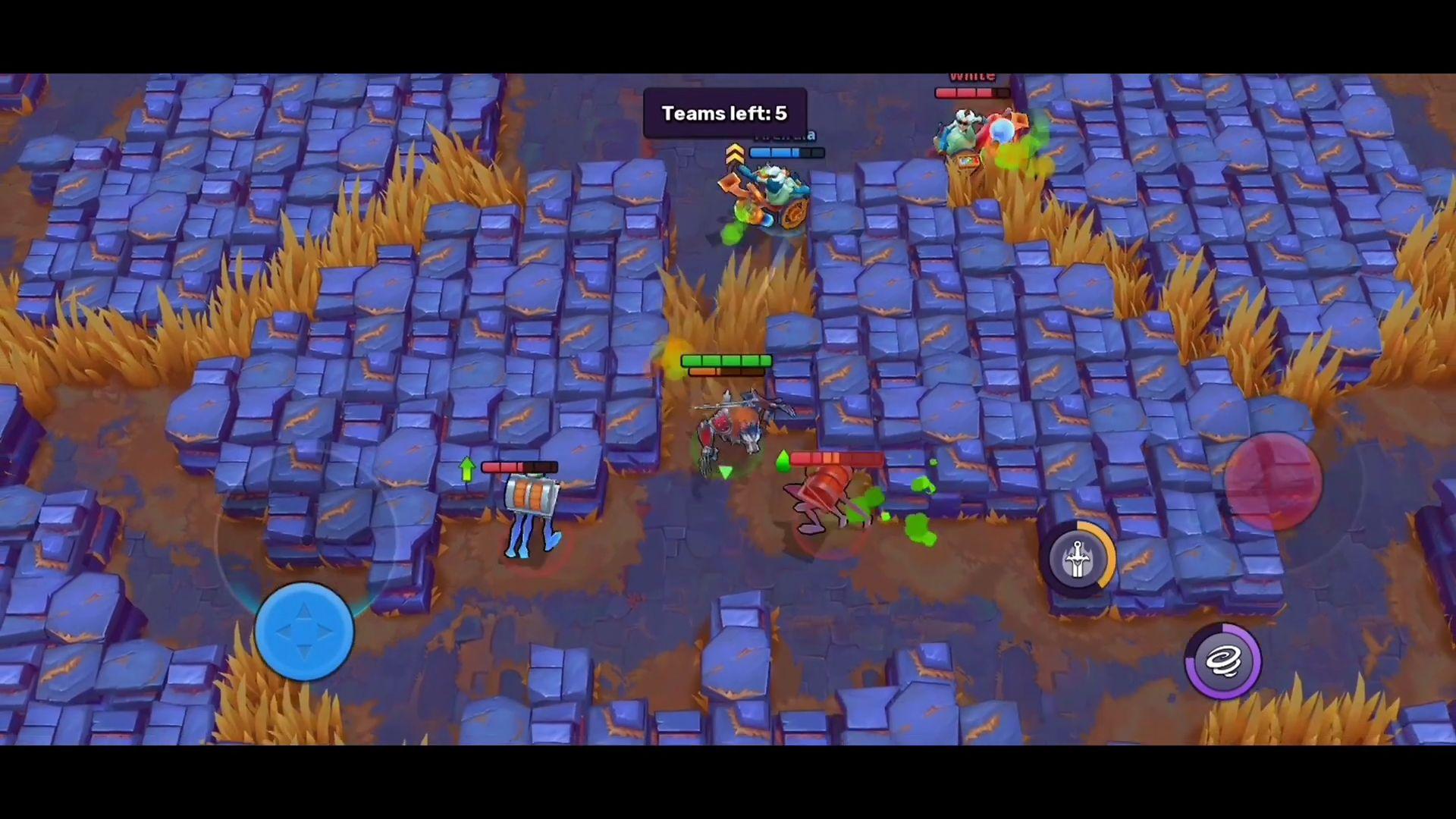 Frayhem - 3v3 Brawl, Battle Royale, MOBA Arena для Android