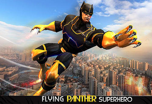 Иконка Super Panther flying hero city survival