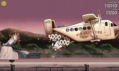 Jogos de tiro lógicos Angry Birds Rio em portugues
