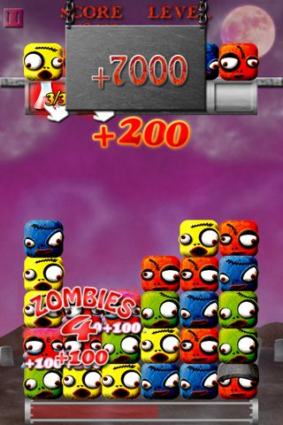 Screenshot Cube zombie on iPhone