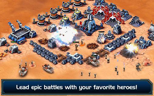 Strategie Star wars: Commander für das Smartphone