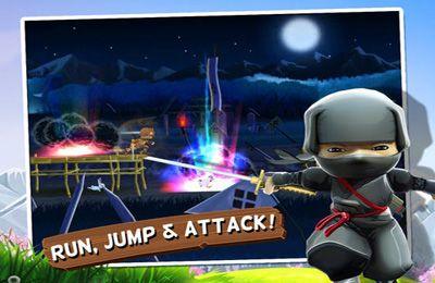 Arcade-Spiele: Lade Mini Ninjas auf dein Handy herunter