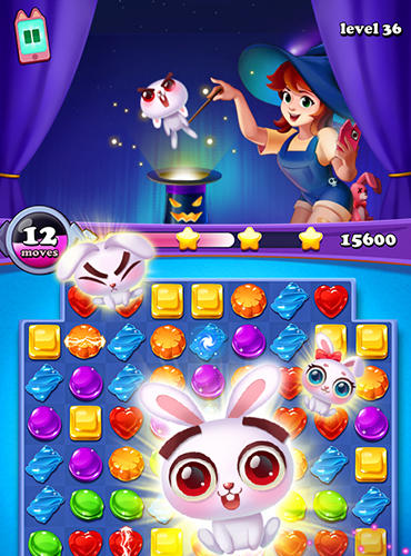 Gems witch: Magical jewels für Android