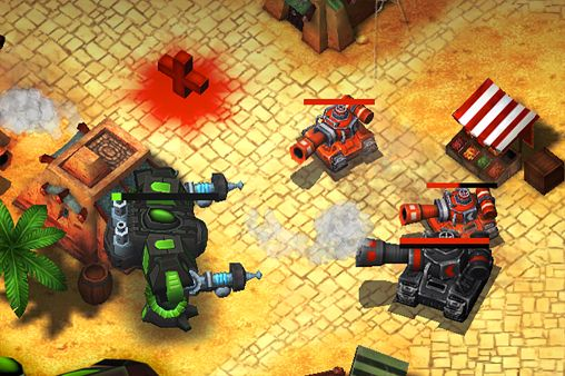 Screenshot Steel Mayhem: Kampf Commander auf dem iPhone