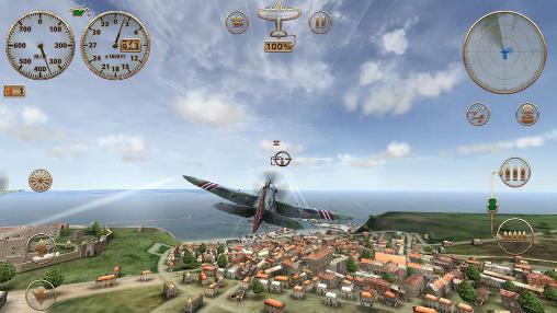 Sky gamblers: Storm raiders для Android