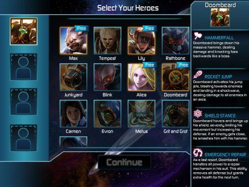 Strategie RPG Arena of heroes auf Deutsch