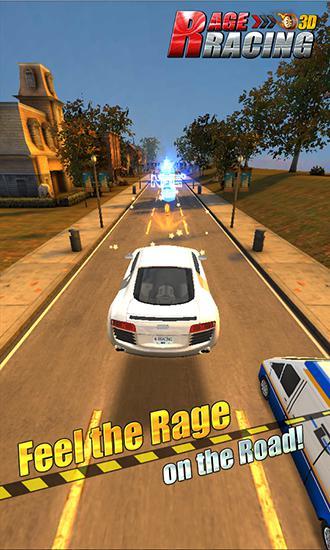 Rage racing 3D screenshot 1