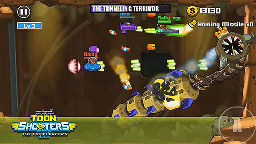 Arcade-Spiele Toon shooters 2: The freelancers für das Smartphone
