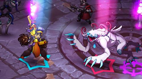 Strategische RPG-Spiele Arena stars: Battle heroes auf Deutsch