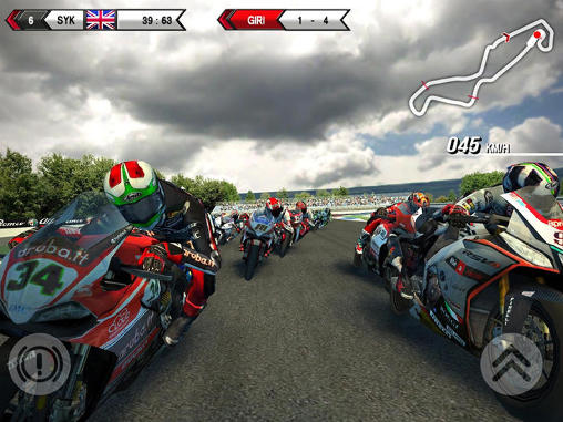 SBK15: Official mobile game скриншот 2