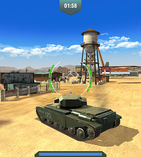 War machines: Tank shooter game für Android