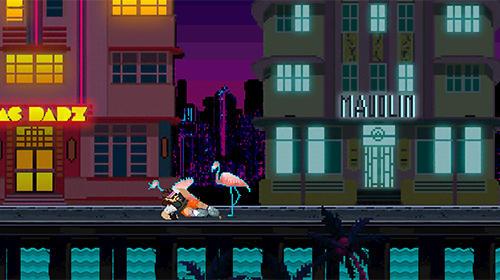 Pixelspiele Super 80s world auf Deutsch