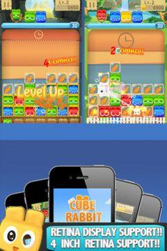 Arcade-Spiele: Lade Würfelhasen auf dein Handy herunter