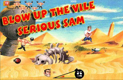 Arcade-Spiele: Lade Ernster Sam: Kamikaze-Angriff! auf dein Handy herunter