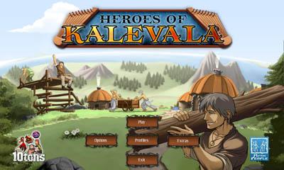 Les Héros de Kalevala en russe