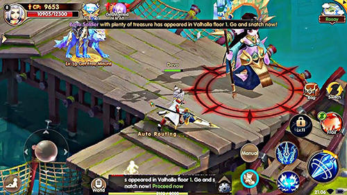 Online RPGs Summoners knight: Dragon blaze auf Deutsch