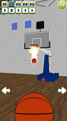 Sportspiele Basketball party shot: Multiplayer sports arcade für das Smartphone