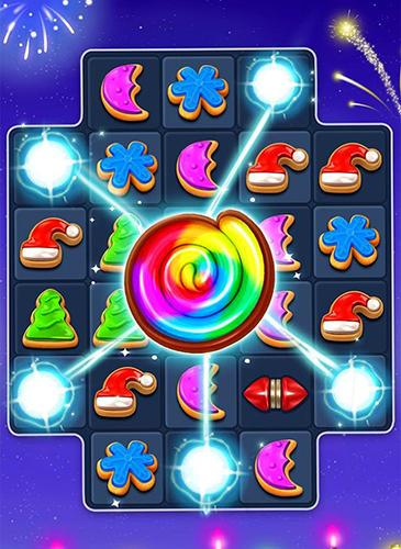 Captura de pantalla Dulces navideños en iPhone