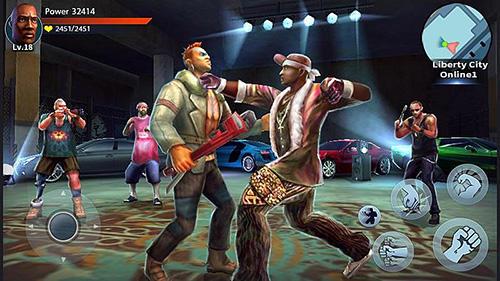 Juegos de acción Auto theft gangsters para teléfono inteligente