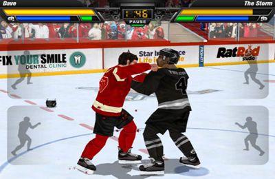 Спортивные игры Hockey Fight Pro на русском языке