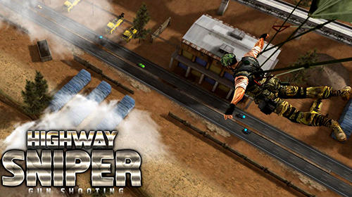 Highway sniper shooting: Survival game скриншот 1