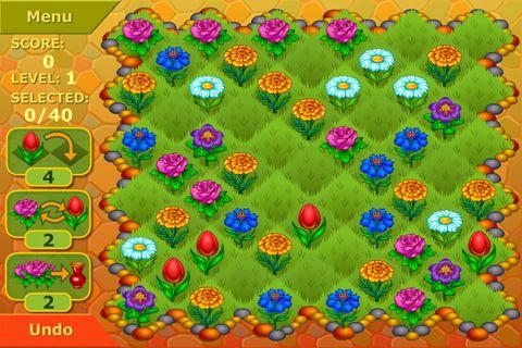 Цветочный сад: Логическая игра для Айфон