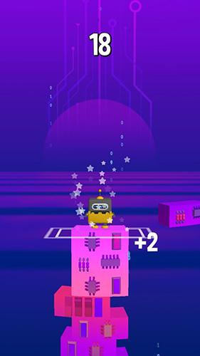 Arcade-Spiele Stack jump für das Smartphone