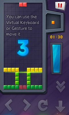Tetris games Ponon! Deluxe in English