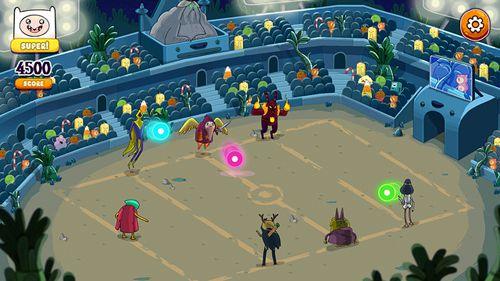 Screenshot Rockstars von Ooo: Adventure Time Rhythmus-Spiel auf dem iPhone