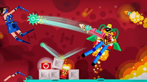 Ragdoll rage: Heroes arena für Android