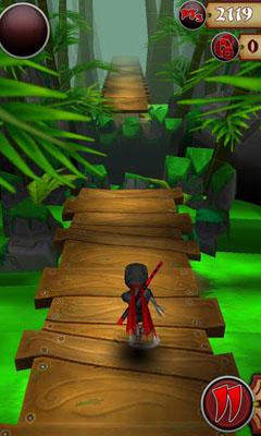Arcade Ninja Feet of Fury für das Smartphone