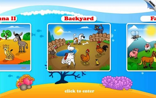 Kids animal preschool puzzle l für Android