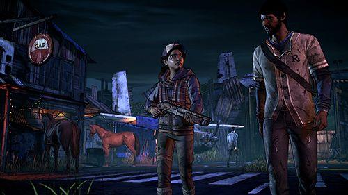 Arcade-Spiele: Lade The Walking Dead: Eine neue Grenze auf dein Handy herunter