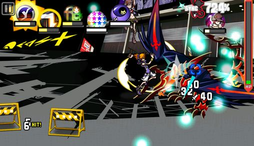 RPG The world ends with you für das Smartphone