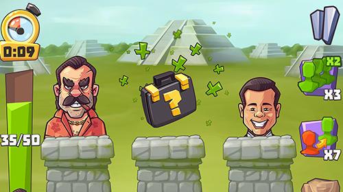 lustigen Spiele Vote blitz! Clicker arcade and idle politics game auf Deutsch