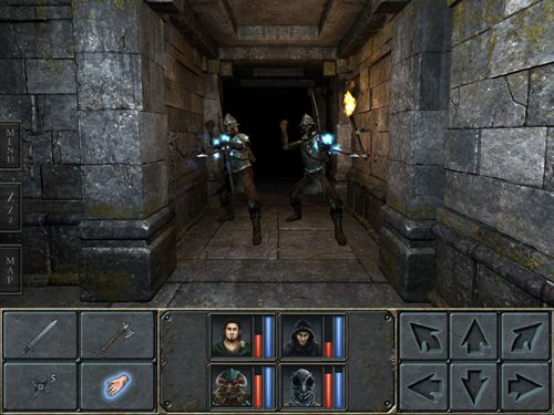Screenshot Legende von Grimrock auf dem iPhone