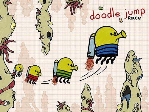 logo Doodle Jump Rennen