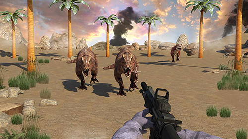 Dinosaur shooter 3D pour Android