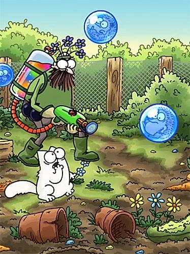 Arcade-Spiele: Lade Simons Katze: Zeit zum Platzen auf dein Handy herunter