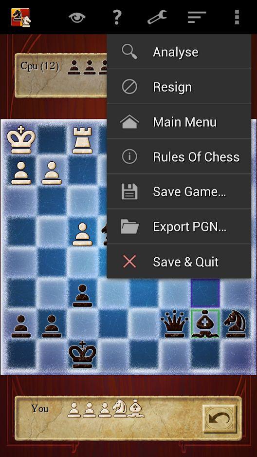 Chess captura de pantalla 1