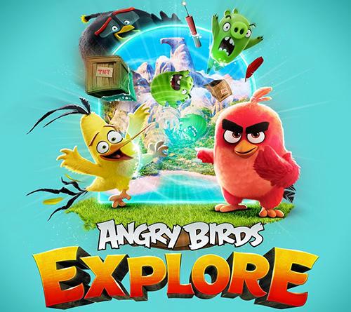 Angry birds explore Screenshot